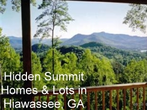 Hidden Summit, homes and lots for sale in Hiawassee, GA