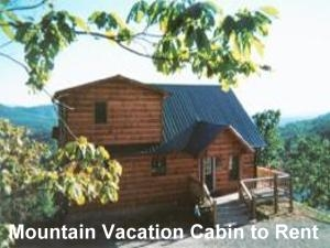 Vacation Cabin to Rent in Georgia