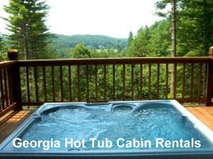 GA Rental Cabins with Hot Tubs